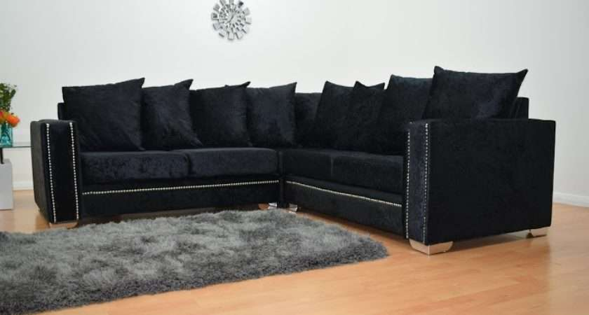 Abbey Velvet Sofa Home Furniture