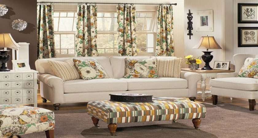 Accent Pieces Living Room Country Cottage