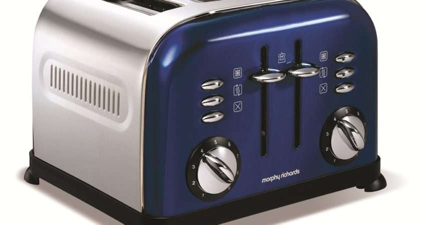 Accents Blue Slice Toaster Toasters Sandwich