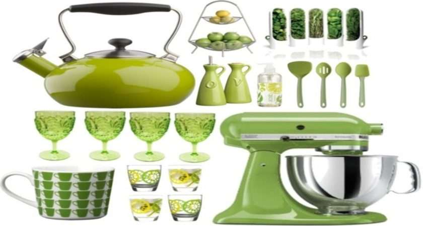 Accessories Black Green Kitchen Lime