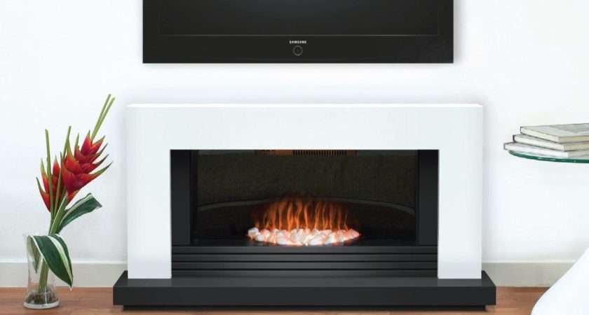Adam Carrera Fireplace Suite Pure White Inch