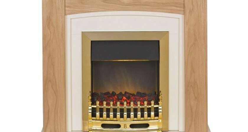 Adam Chilton Electric Fireplace Suite