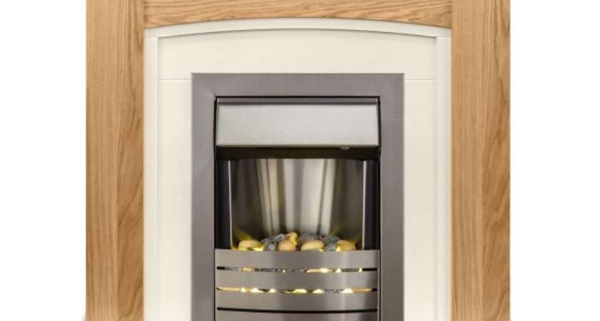 Adam Chilton Fireplace Suite Oak Helios Electric