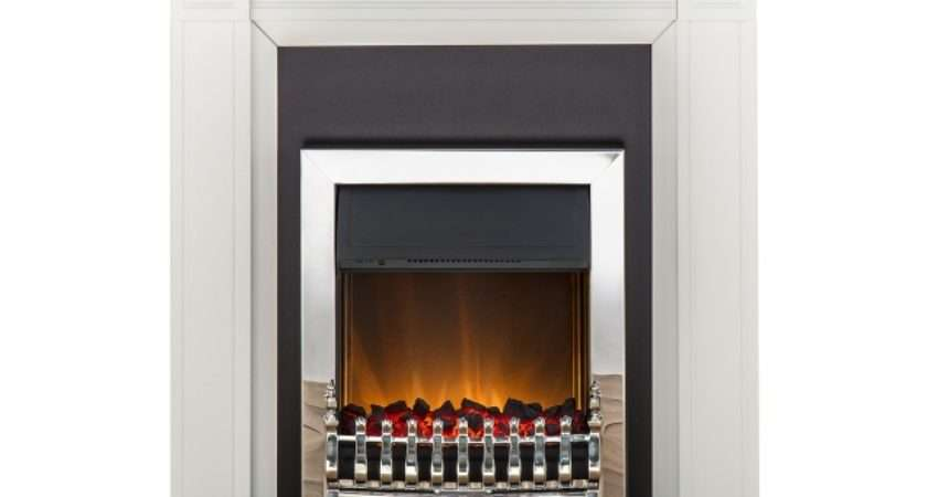 Adam Georgian Fireplace Suite Pure White Blenheim