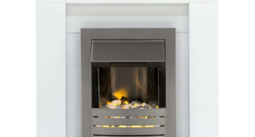 Adam Malmo Fireplace Suite Pure White Helios