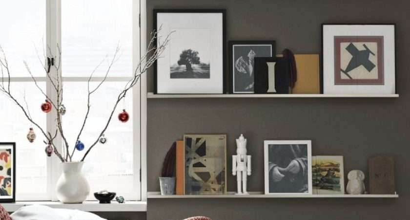 Add Decorative Wall Shelves Elegant Style