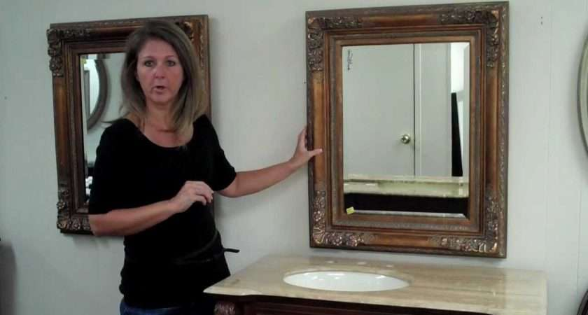 Add Frameless Bathroom Vanity Mirrors Old Fashioned Room Oak