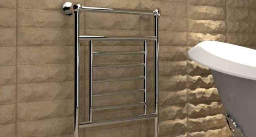 Add Gorgeous Kudox Vera Floor Mounted Towel Warmer Your
