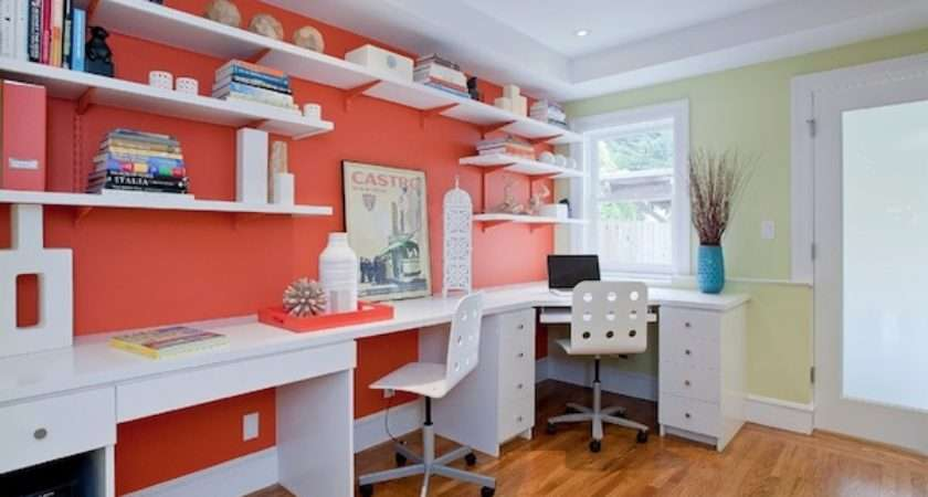 Add Splashes Color Your Home Office