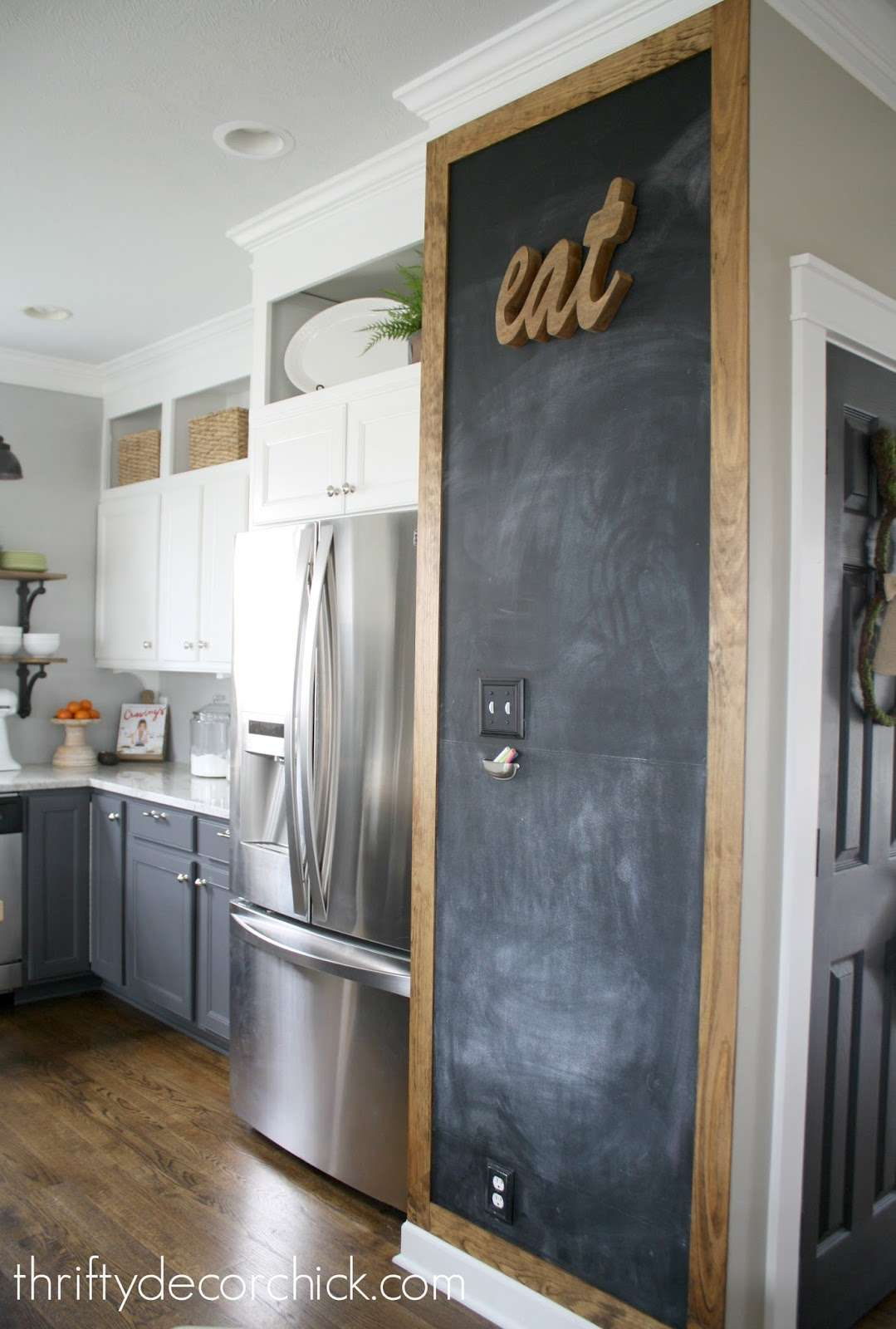 Adding Some Rustic Charm Kitchen Thrifty Decor