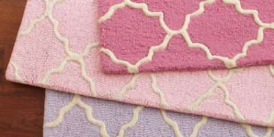 Addison Rug Light Pink Pottery Barn Kids
