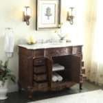 Adelina Inch Antique Style Bathroom Vanity Fully