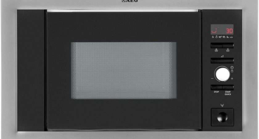 Aeg Integrated Microwave Oven Stainless Steel