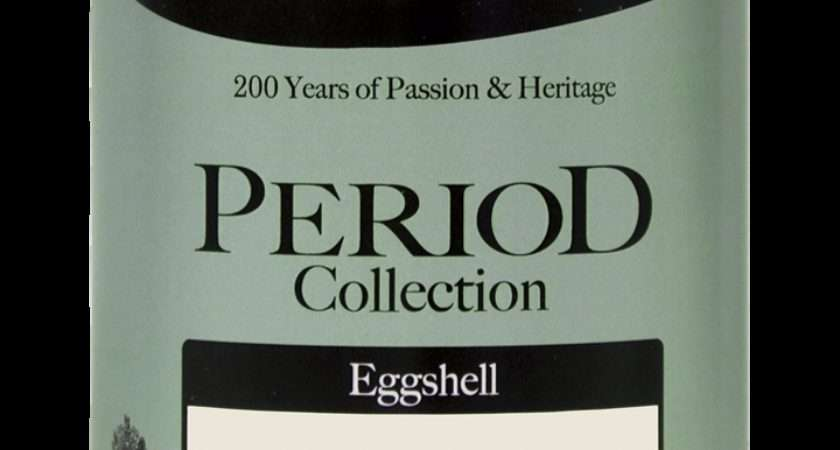Aged White Eggshell Period Collection Crown Paints