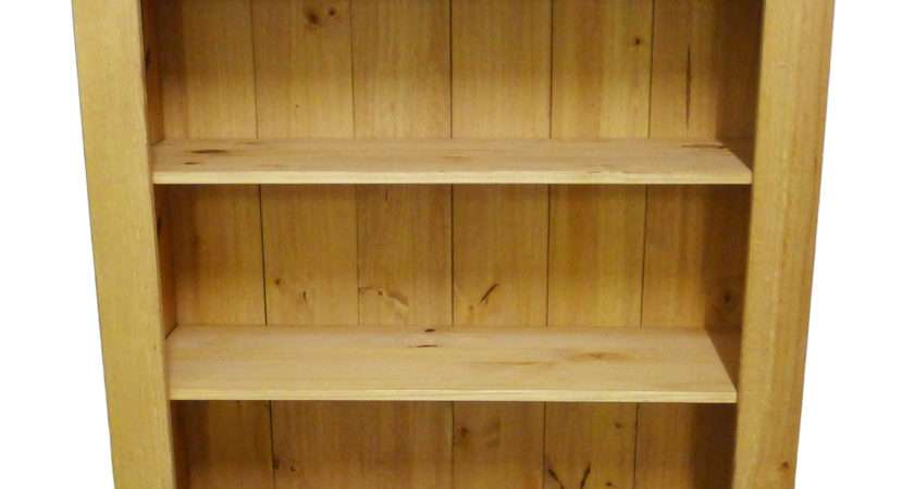 Albans Solid Pine Bookcase Bookshelf Storage Unit