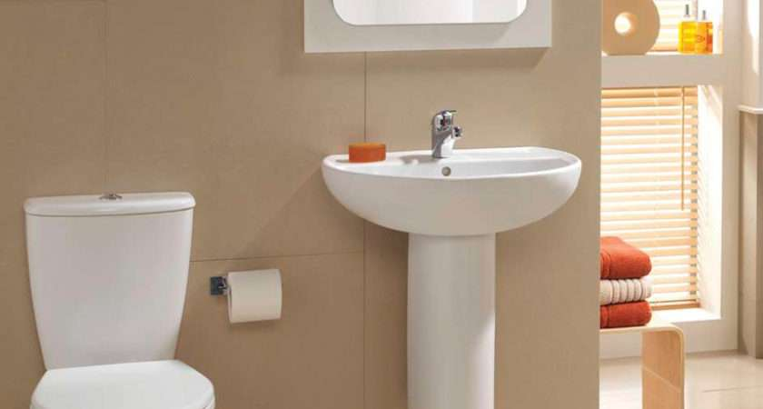 Alcona Toilet Wash Basin Set