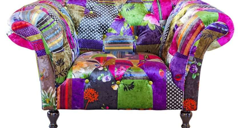 Alhambra Patchwork Arm Chair Fabulous