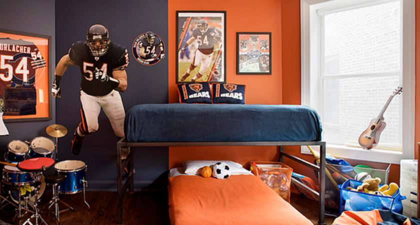 All Sports Bedrooms Bedding Ideas Kids Bedroom Boys