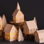 All Things Paper Miniature Houses Round