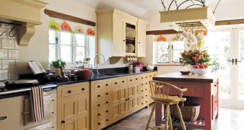 Along One Wall Freestanding Kitchen Design Which