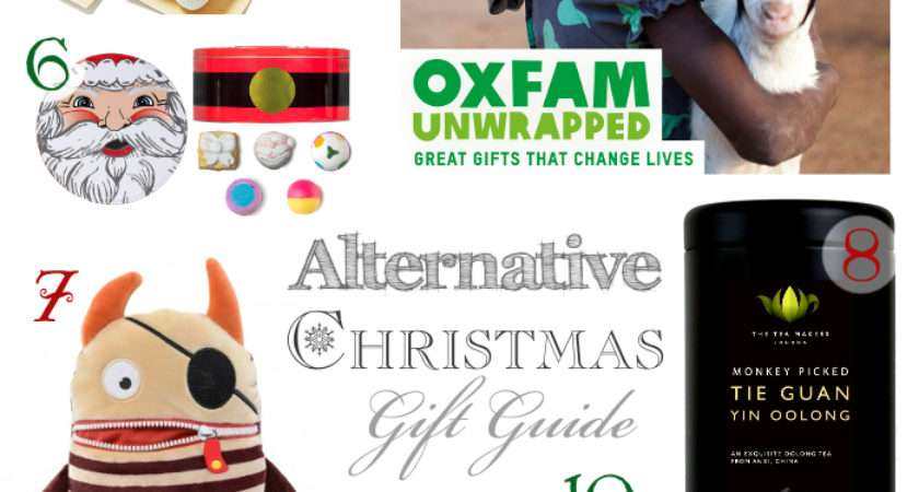 Alternative Christmas Gift Guide Oxfam Unwrapped