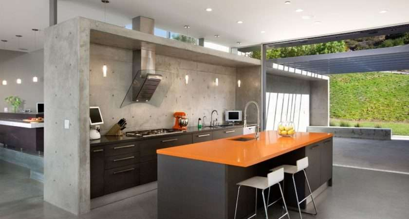 Amazing Concrete Kitchen Design Ideas Decoholic