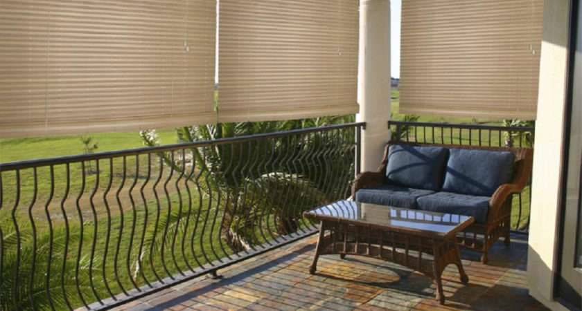 Amazing Patio Blind Outdoor Shades Roll Blinds