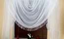 Amazing Ready Made Modern Curtain Curtains White Voile Lace Bargain