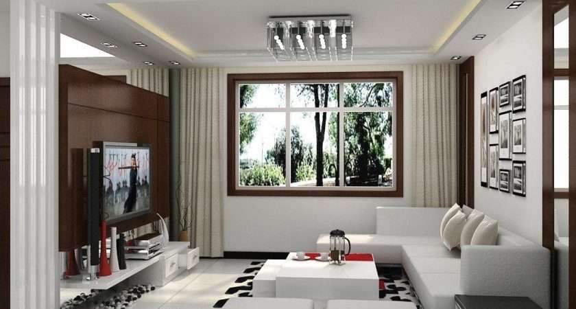 Amazing Simple Attactive Modern Small Living Space Ide