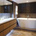 Ambience Bathroom Standing Bath Twin Basin Unit