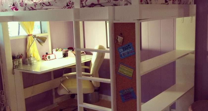 Ana White Teen Loft Bed Diy Projects