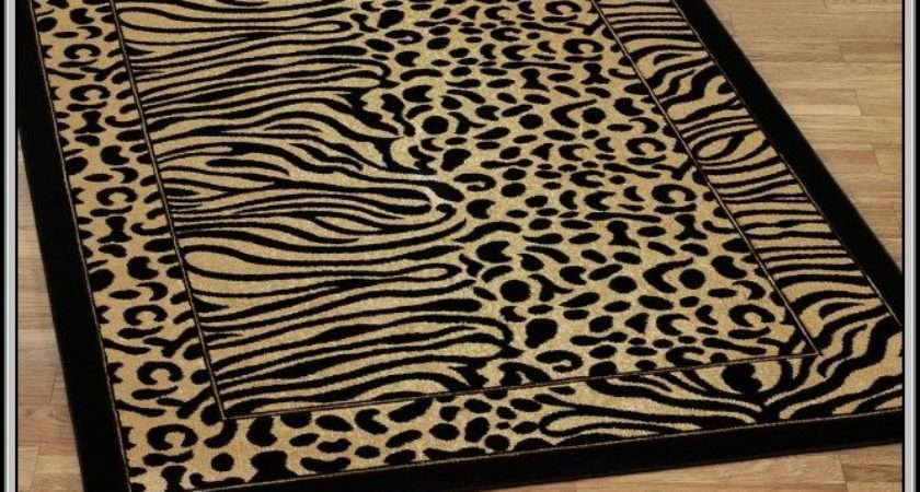 Animal Print Rugs Home Decorating Ideas