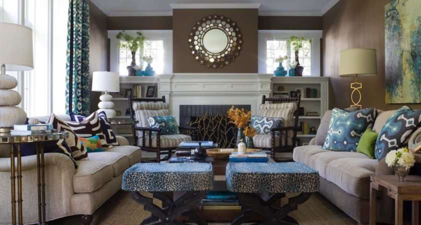 Ann Lowengart Transitional Style Living Room Rend