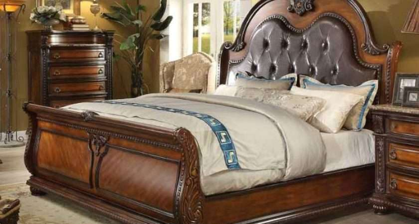Annabelle French Provincial Queen Sleigh Bed Set