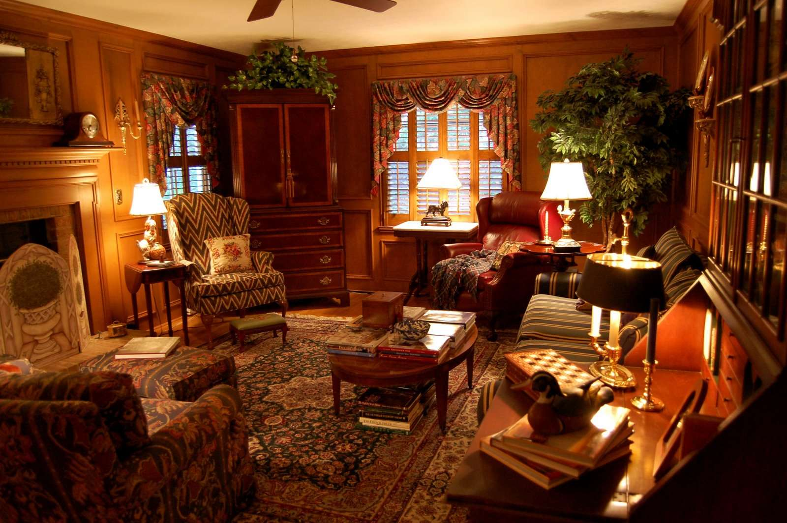 Another Country Living Room Ideas