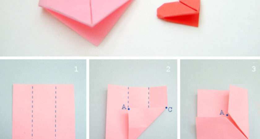 Another Sweet Origami Heart Bloomize