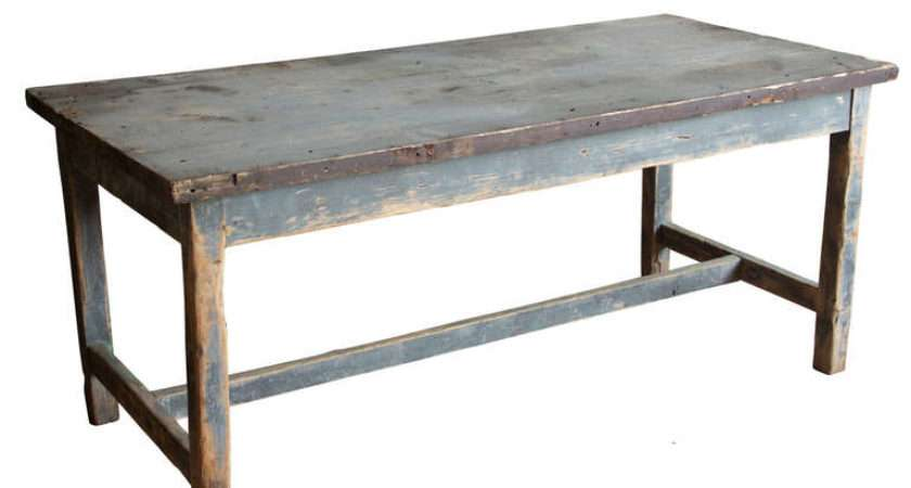 Antique French Industrial Work Table Stdibs