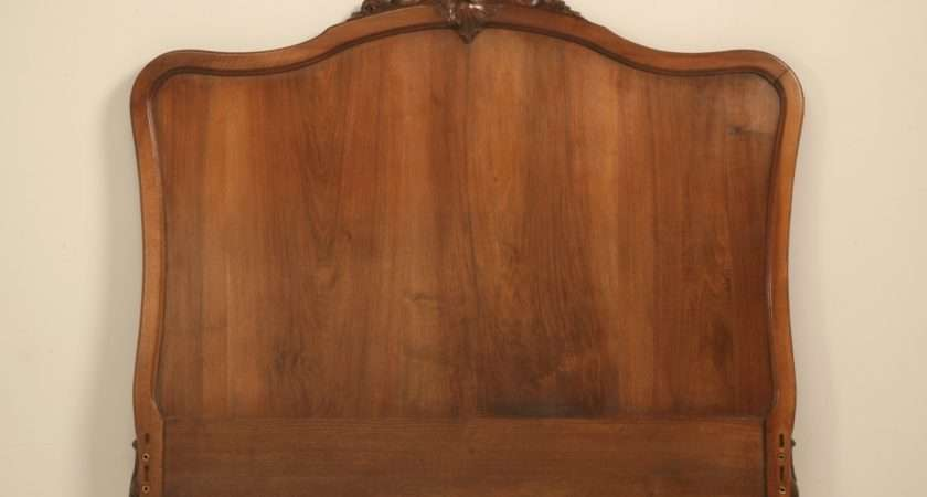 Antique French Rococo Louis Headboard Sale Old Plank