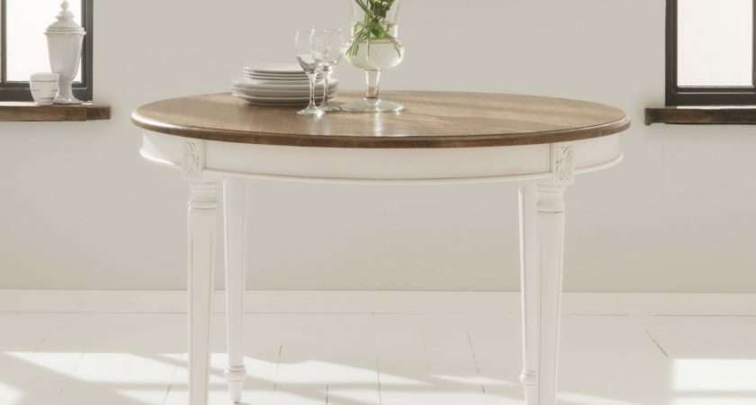 Antique French Style Round Dining Table