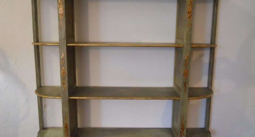 Antique Handpainted French Wall Shelf Stdibs