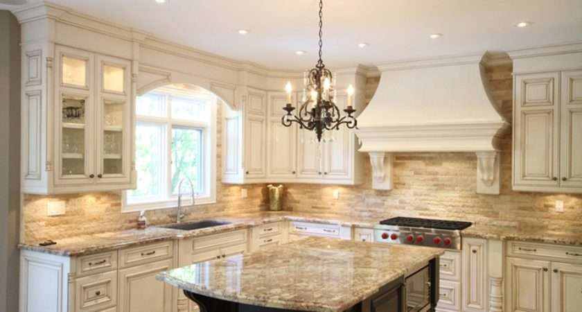 Appeal French Country Style Kitchen Design