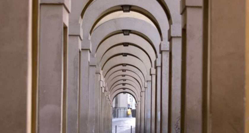 Arched Walkway Dennis Flood Photography