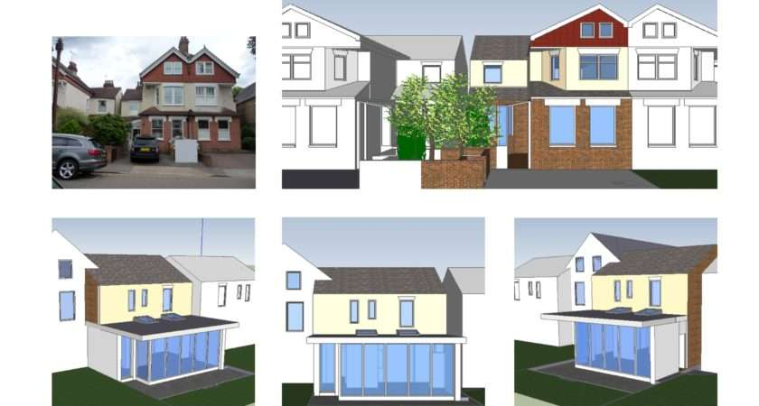 Architect Designed House Extension Norbiton Kingston