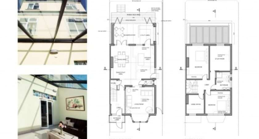 Architect Designed Rear Side House Extensions London