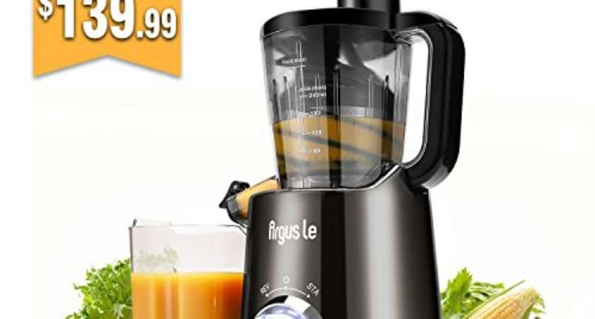 Argus Slow Masticating Juicer Easy Clean Cold Press