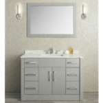 Ariel Seacliff Radcliff Taupe Grey Single Sink
