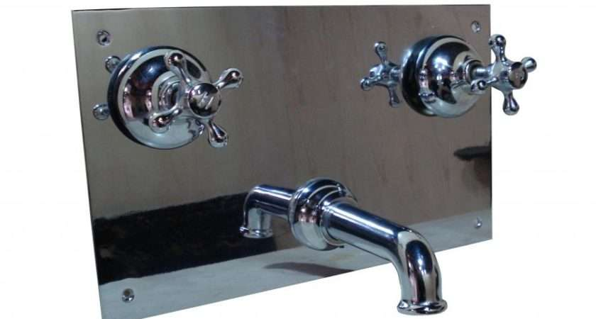 Art Deco Wall Mounted Bath Mixer Taps Architectural Heritage