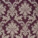 Arthouse Opera Byron Grey Plum Damask