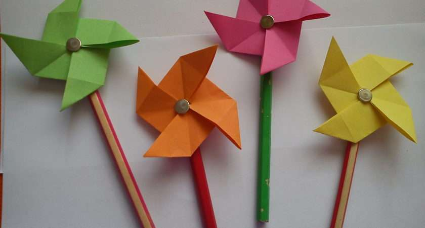 Arts Crafts Origami Kids Step Make