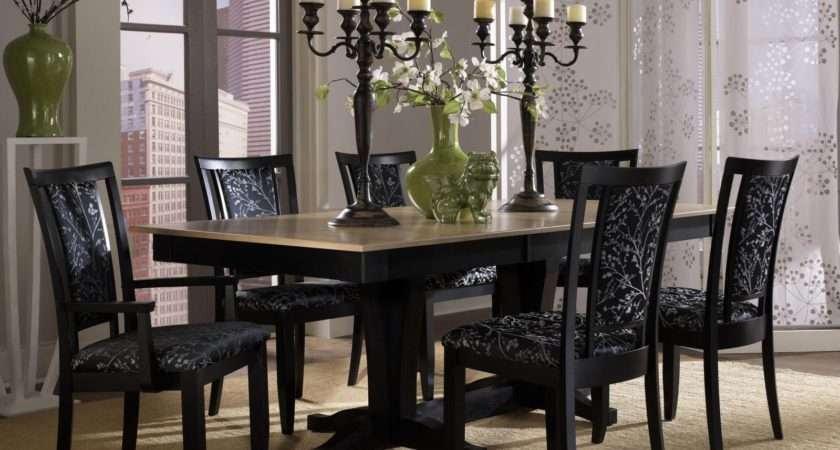 Attachment Black Dining Room Table Sets